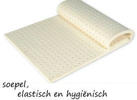 Topdekmatras latex