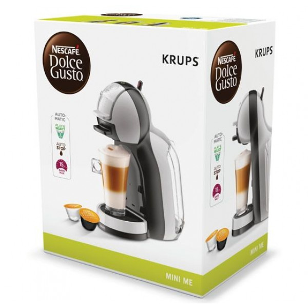 Krups Dolce Gusto Mini Me Kp123b Grey Silvana Support Actie