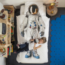 Dekbedovertrek Astronaut van het merk Snurk beddengoed
