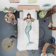 Dekbedovertrek Mermaid van het merk Snurk beddengoed