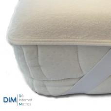 Super handige molton matrasbeschermer met elastieken