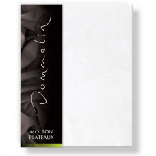 Molton-plateaumodel met 4 hoekelastieken extra zware kwaliteit geweven van het merk Dommelin