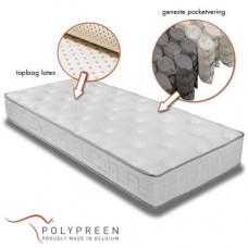 Quartz Stable Latex pocketvering matras