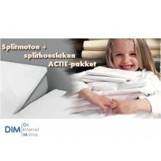 Splittopper textiel ACTIE pakket van het merk DIM