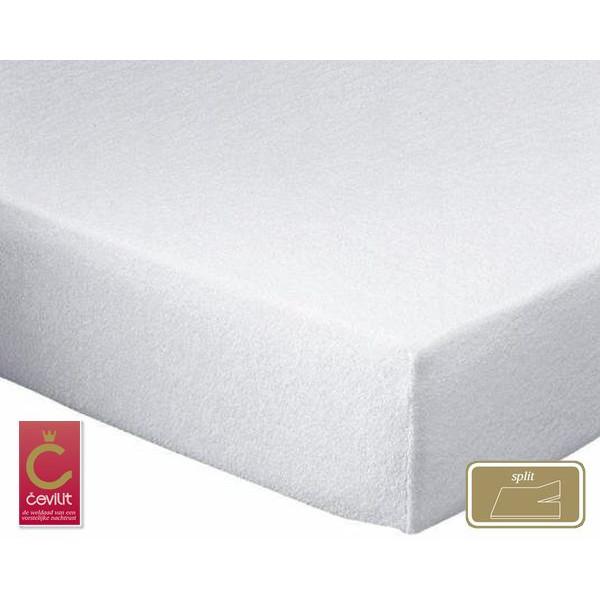 K200 Split Molton matrasbeschermer geweven van het merk Cevilit