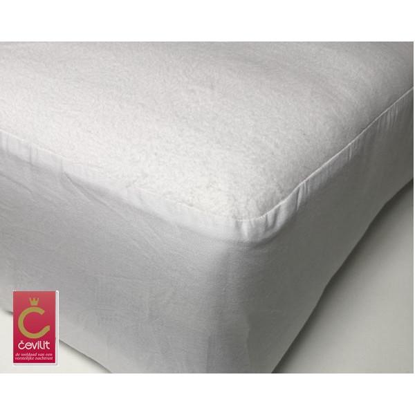 K470 Molton matrasbeschermer geweven extra zware kwaliteit van het merk Cevilit