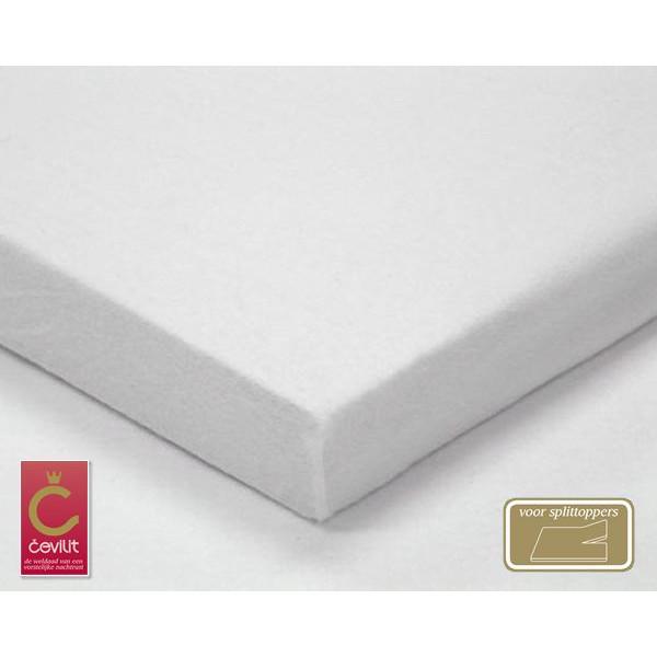 STK200 Split Molton Topper matrasbeschermer geweven van het merk Cevilit