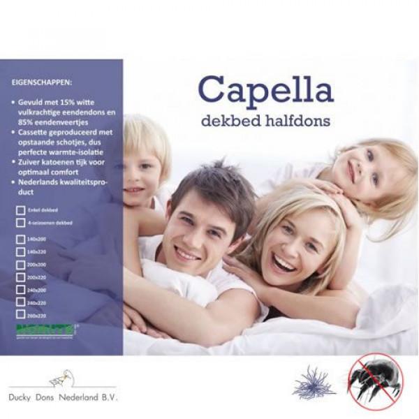 Capella Cassette Thermo 4-seizoenen dekbed van het merk Ducky Dons