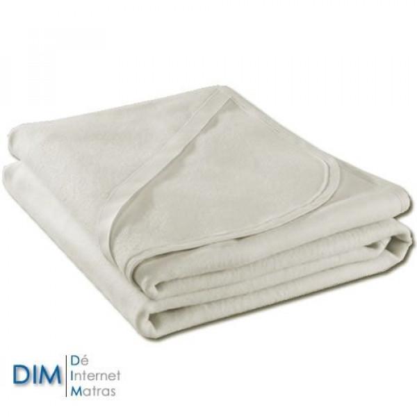 Waterdichte kindermolton matrasbeschermer met elastieken