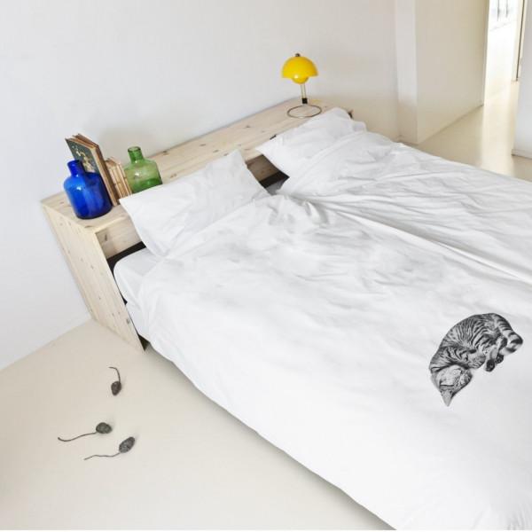 Ook als je partner liever geen poes op het bed heeft!