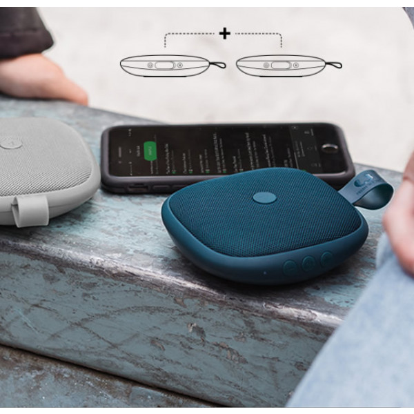 2 Bold XS speakers draadloos met elkaar verbinden.