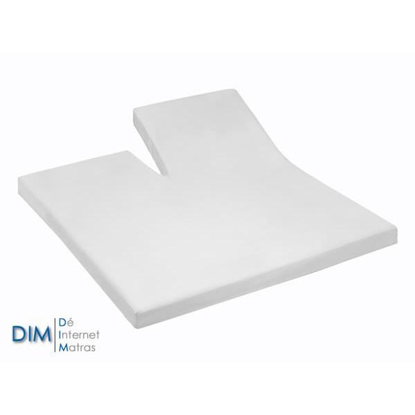 Splittopper Molton 200 gram geweven van het merk DIM
