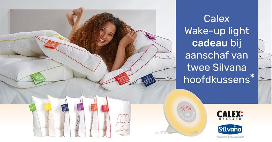 Wake-up light gratis!