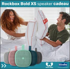 Gratis Rockbox Bold XS bij kessens of een dekbed.