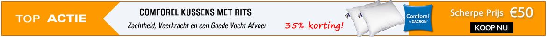 2 Comforel kussens voor €50!